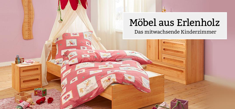 Kinderzimmermöbel holz  Bio Kindermöbel aus Holz online kaufen bei Waschbär