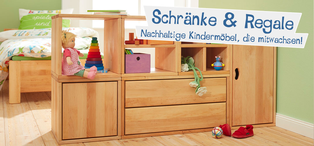 bio kinderm bel aus holz online kaufen bei waschb r. Black Bedroom Furniture Sets. Home Design Ideas