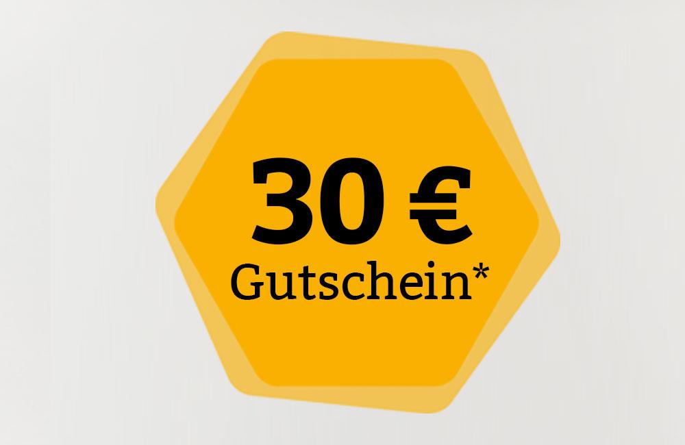 4e20d74f5ea5e5 Gutschein im Wert von 30.- Euro