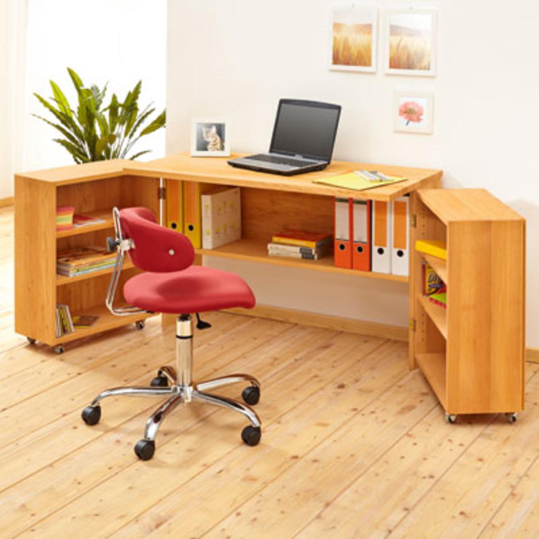 raumspar schreibtisch. Black Bedroom Furniture Sets. Home Design Ideas