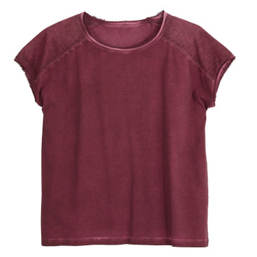Shirt 1/2 Arm, bordeaux