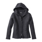 Walkjacke m Kapuze,anthrazit,