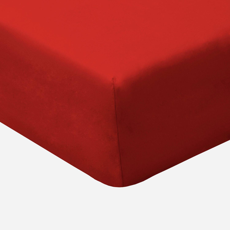 bio jersey elastik spannbetttuch f r wasserbetten dunkelrot. Black Bedroom Furniture Sets. Home Design Ideas