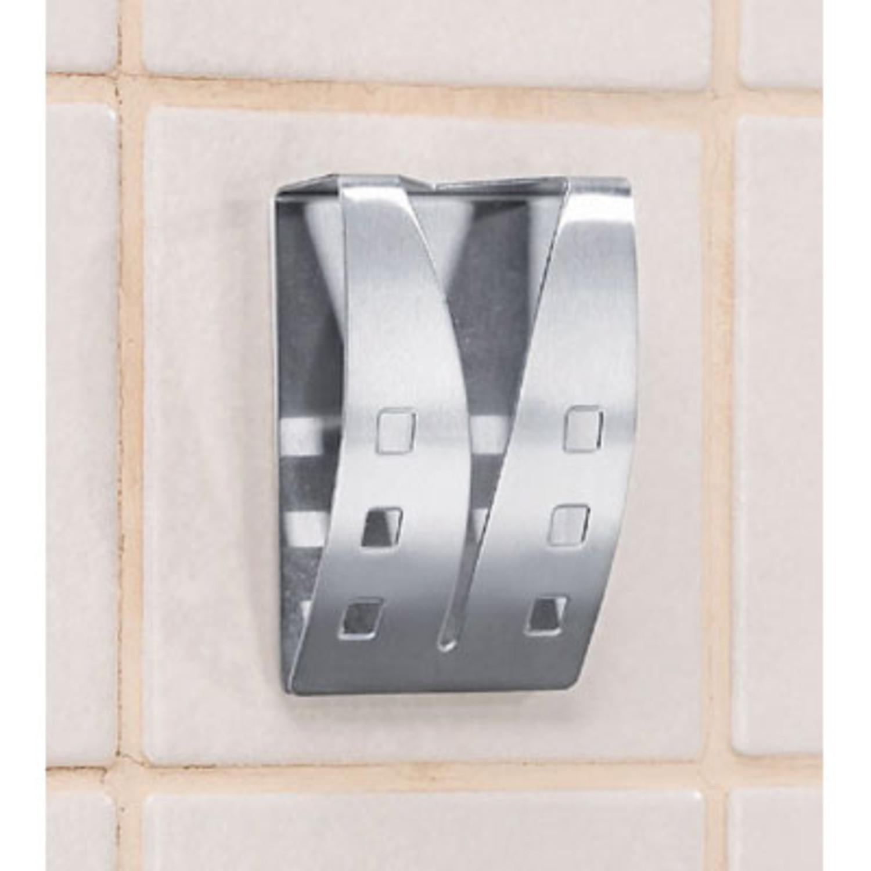Handtuchhalter aus edelstahl 2er set fur kuche bad for Handtuchhalter küche