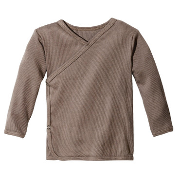 Baby-Wickelshirt, taupe