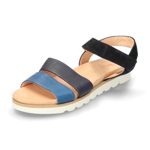 Sandale, enzian-multicolor