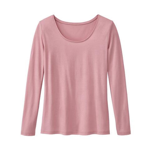 Shirt mit Langarm, rosenholz 40/42 Sale Angebote Gastrose-Kerkwitz