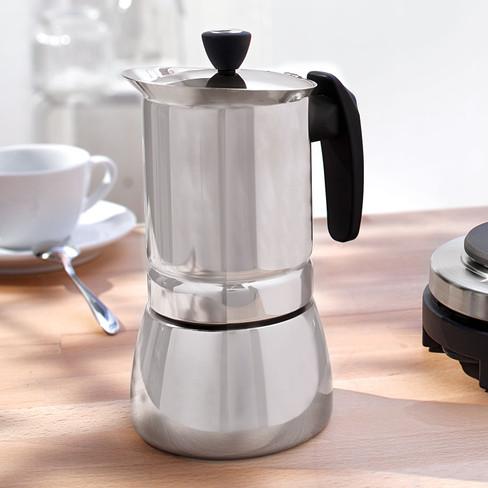 Espressokocher Aus Edelstahl Waschbär