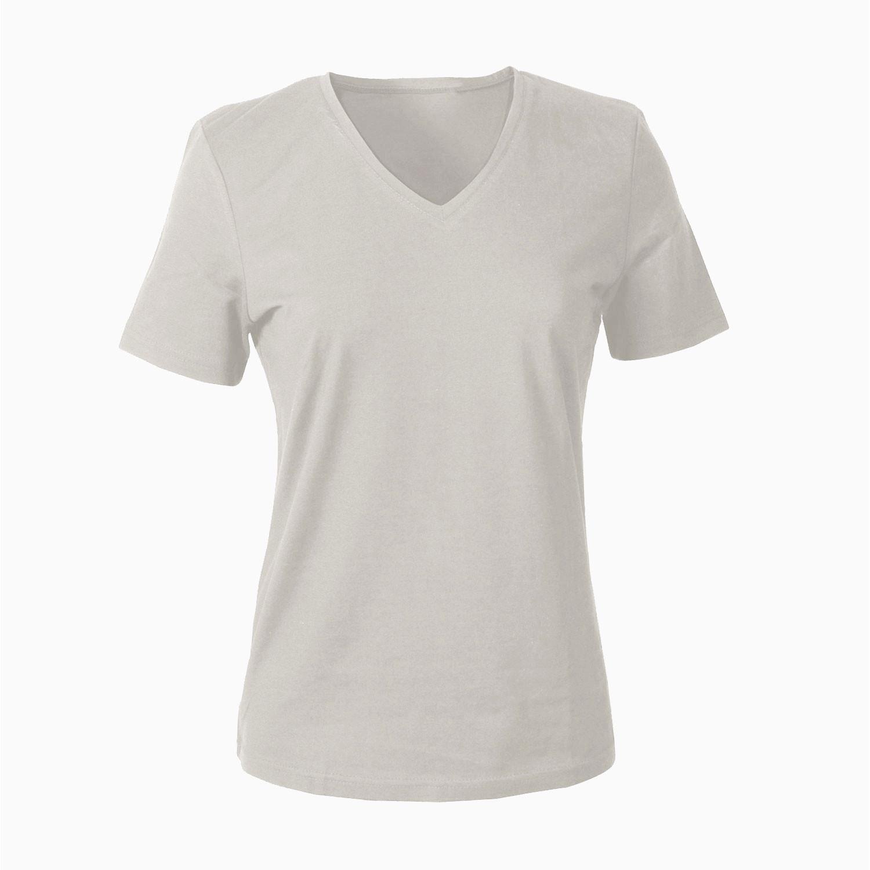 V-Shirt für SIE, grau from Waschbär