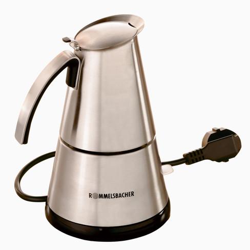 Elektrischer Espresso Kocher Groß Von Rommelsbacher Eko 366 Waschbär