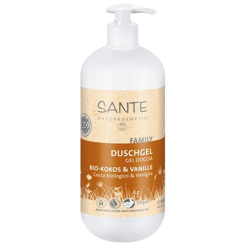 Duschgel Bio-Kokos & Vanille, 950 ml