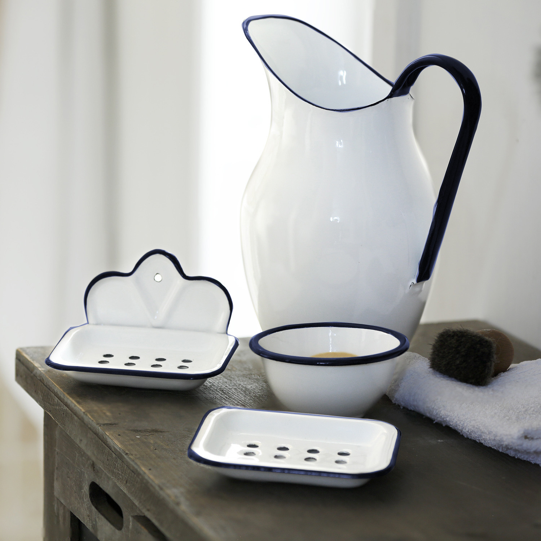 emaille seifenschale. Black Bedroom Furniture Sets. Home Design Ideas