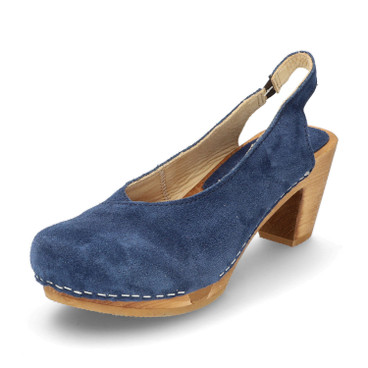 Pumps, jeansblau