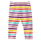 Baby-Leggings, geringelt