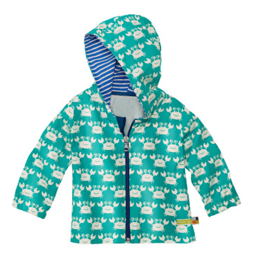 Baby-Outdoorjacke Bionic-Finish Eco, smaragd