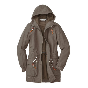 Damen Funktionsparka CALIFO, taupe