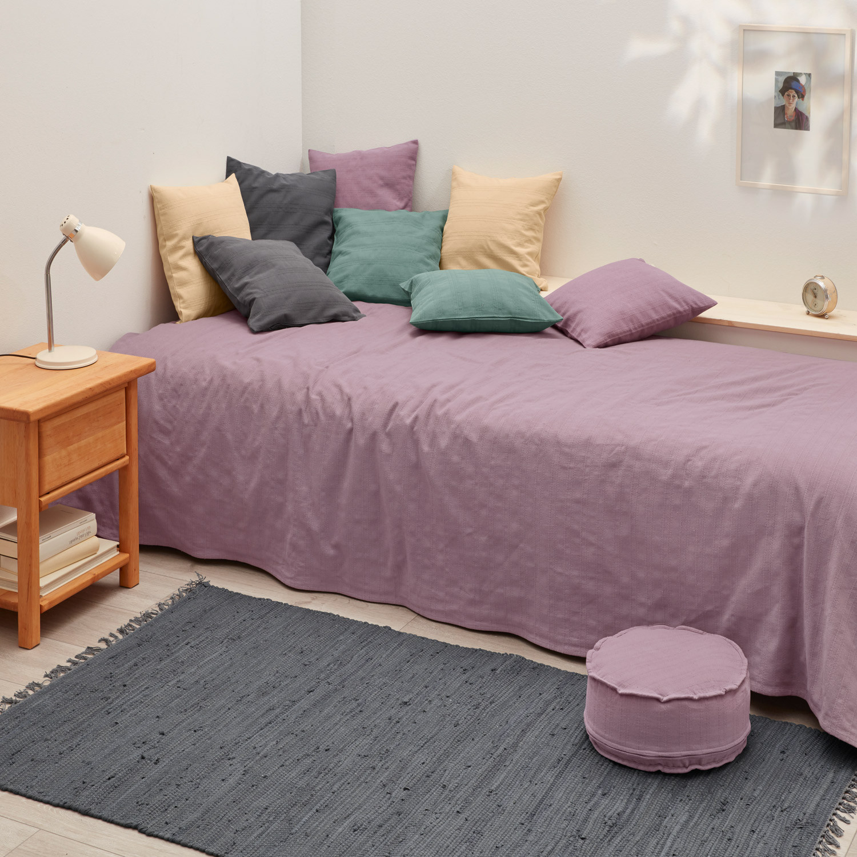 tagesdecke aus bio baumwolle terra. Black Bedroom Furniture Sets. Home Design Ideas