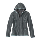 Fleece-Jacke, schiefer