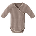 Baby-Wickelbody, taupe
