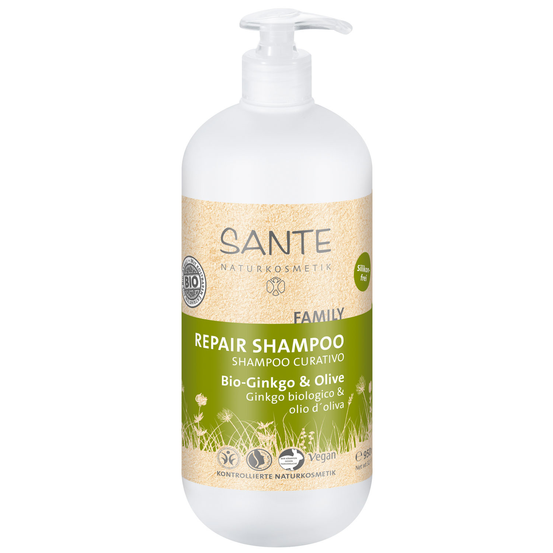 sante family repair shampoo bio ginkgo olive 950 ml. Black Bedroom Furniture Sets. Home Design Ideas