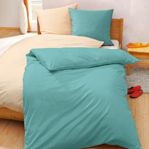 Linon Bettwäsche Programm In Bio Qualität Blau Waschbär