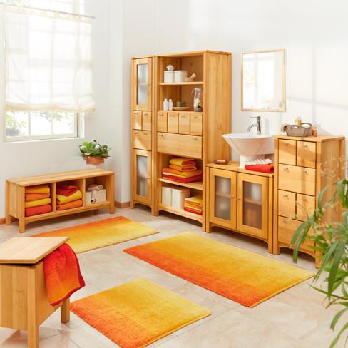 hochschrank schmal aus erlenholz waschb r. Black Bedroom Furniture Sets. Home Design Ideas
