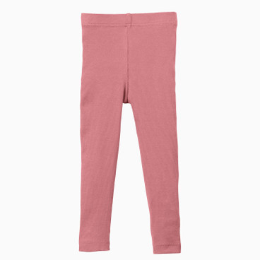 Ripp-Leggings stretchbequem, rose