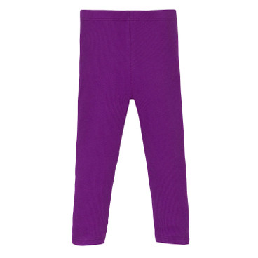 Ripp-Leggings stretchbequem, lila