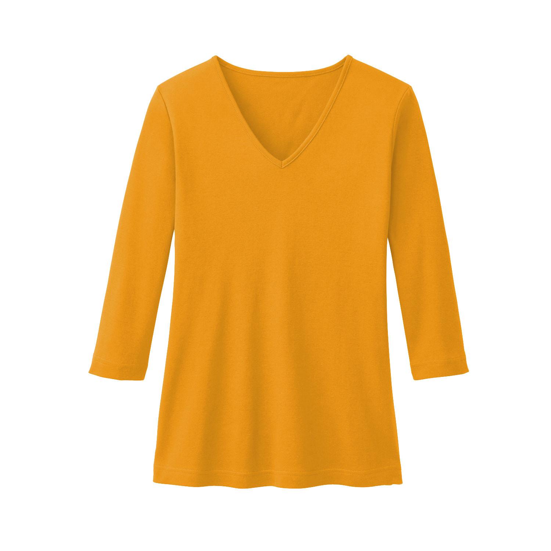 V-Shirt aus Bio Baumwolle, mango from Waschbär