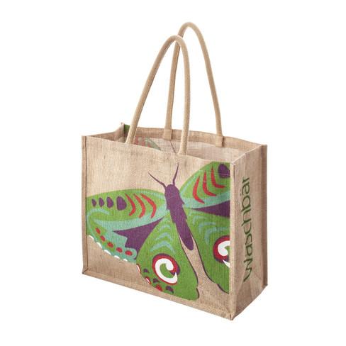 Jute-Tasche Schmetterling