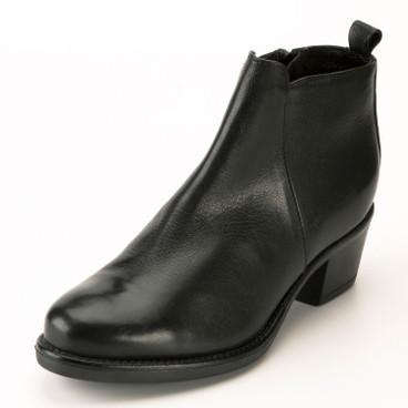 Kaufen Damen schwarze Stiefeletten VOID SHOES im Online Shop