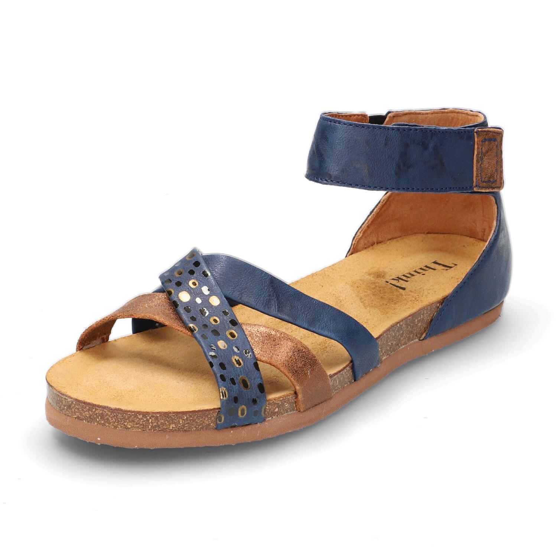 Sandale SHIK, indigo/kombi from Waschbär