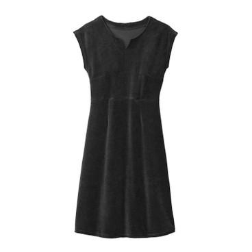 2ed0f8077e85 Enna Nicki-Kleid aus reiner Bio Baumwolle, schwarz   Waschbär