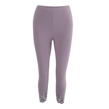 3/4 Leggings, mauve