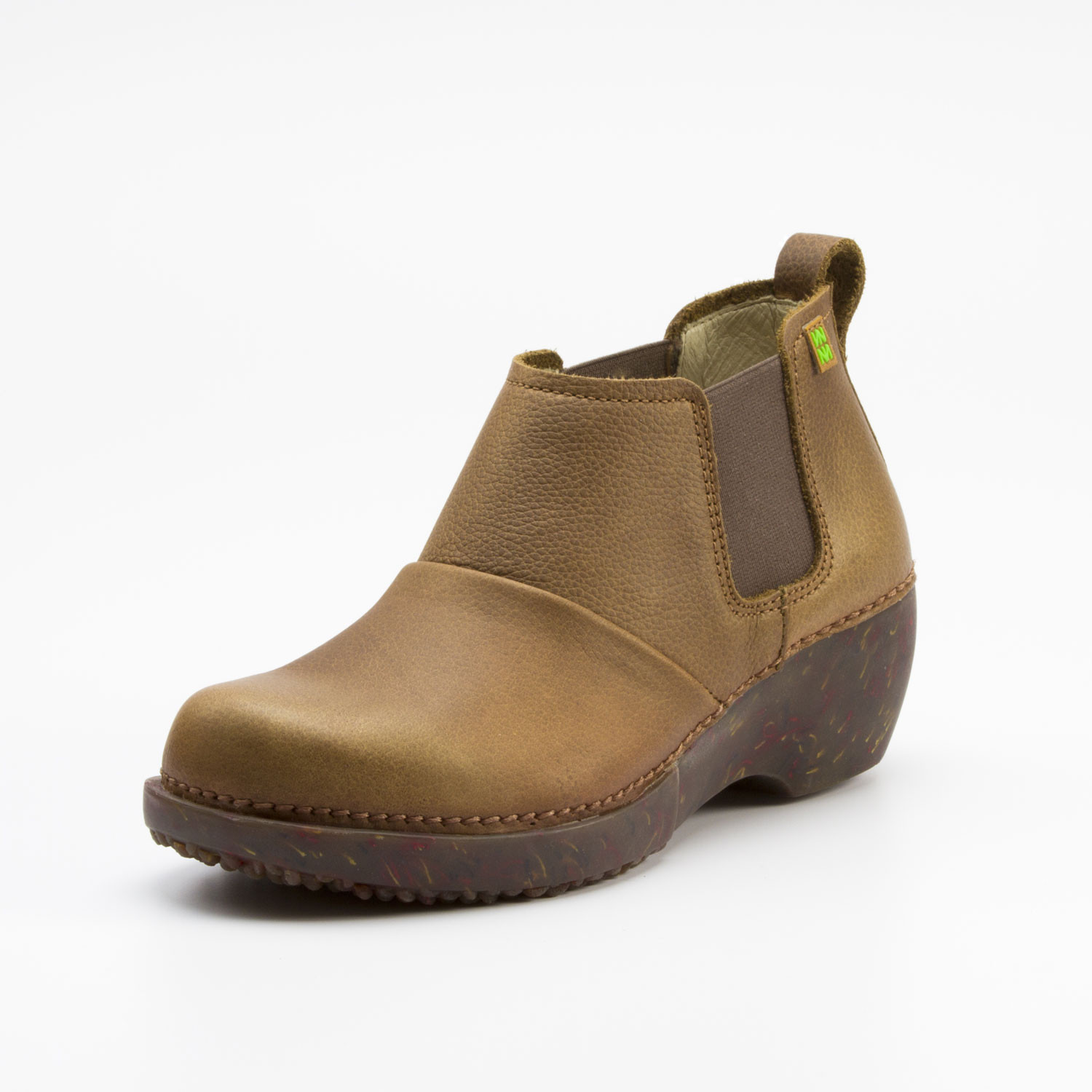 "Ankle-Boot ""Tricot"", schlamm"