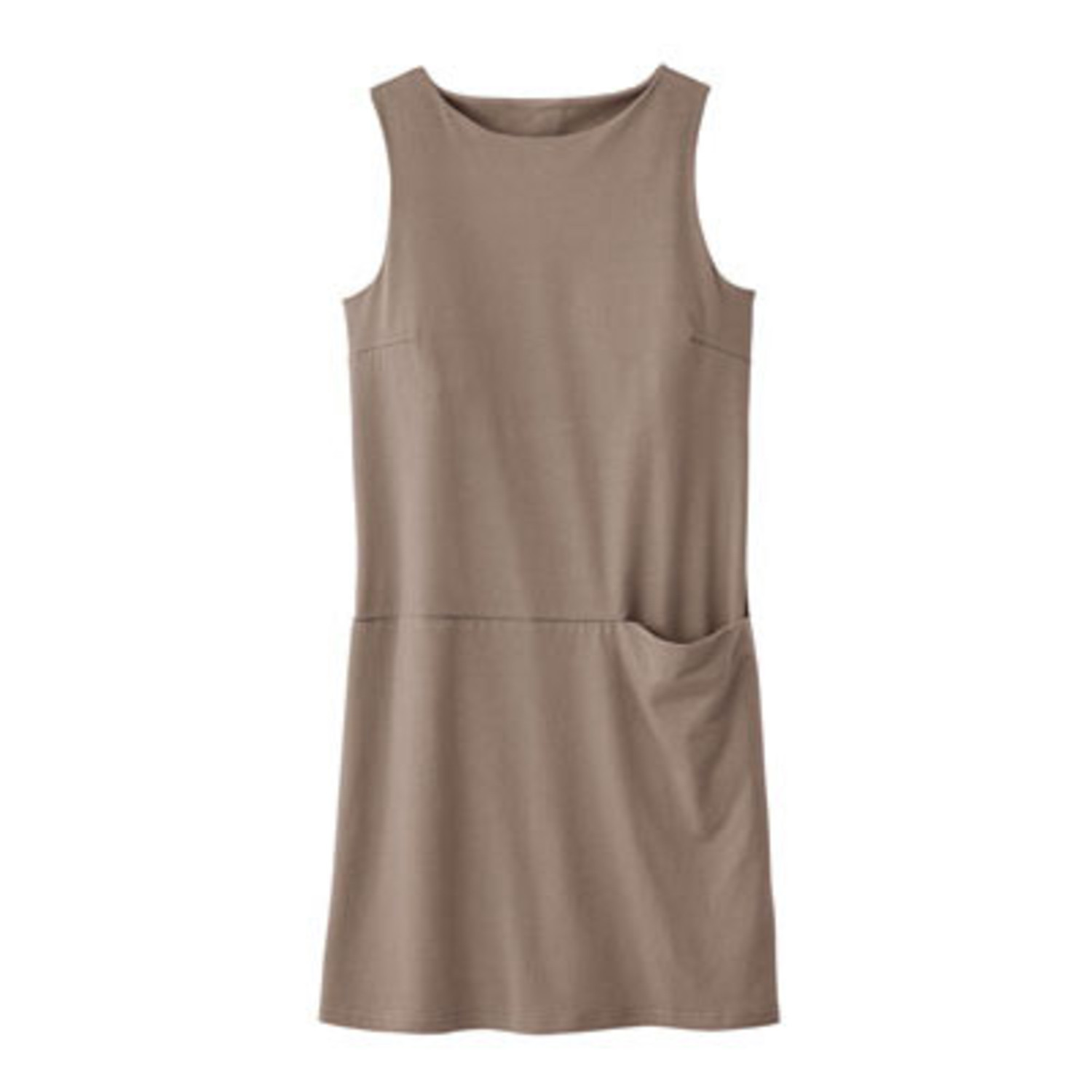 Jersey-Kleid, taupe