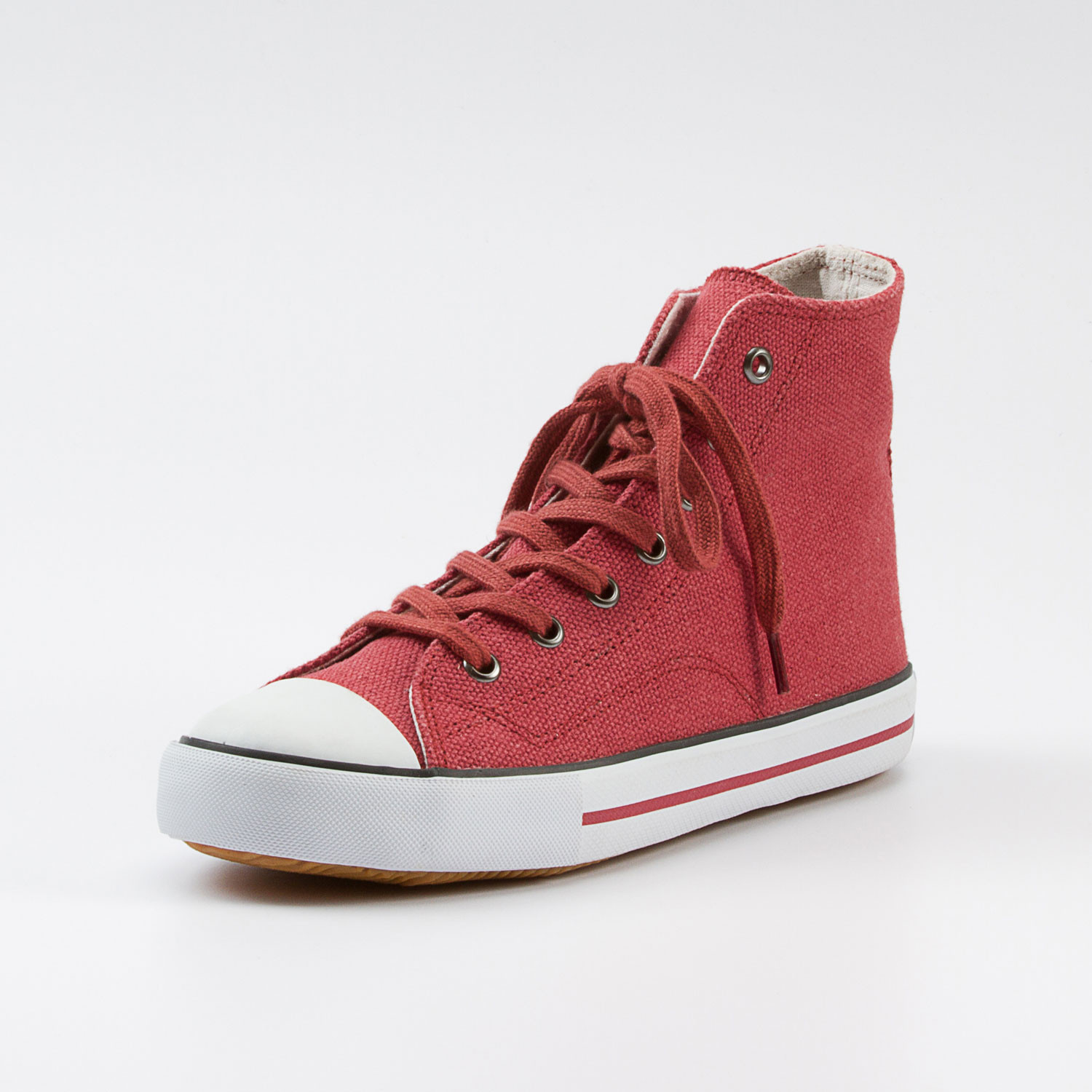 "Hanf-Bootie ""Chris"", rot"