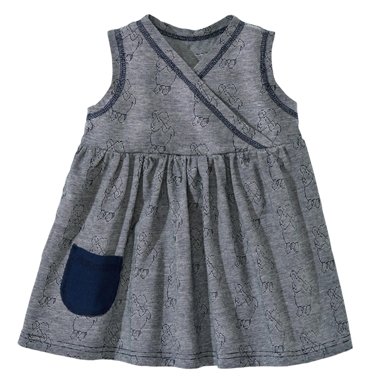 baby kleid blau
