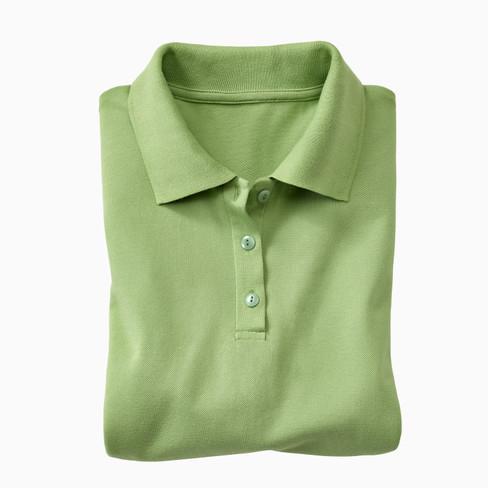Polo-Kurzarmshirt, apfel XXL