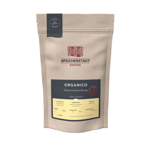 Kaffeebohnen ´´Organico Espresso´´ 500 g
