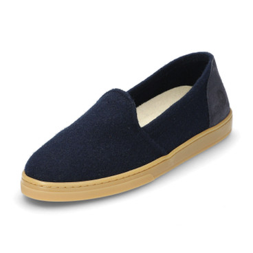 Slipper WOOL LOAFER, blau