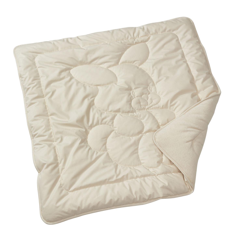 80 x 100 cm Grau-Vanille Melange kbA GOTS zertifiziert Bio Kuscheldecke aus 100/% Bio-Baumwolle