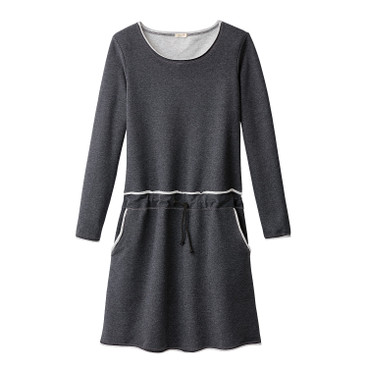Sweatkleid, anthrazit-melange