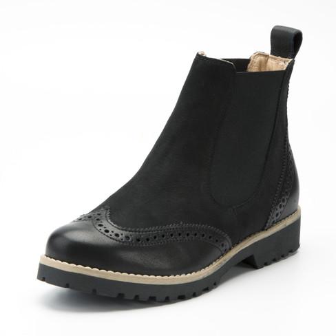 Chelsea-Boot, schwarz 36