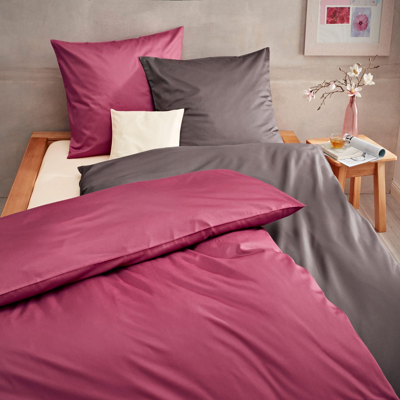 satin bettw sche programm in bio qualit t eisblau. Black Bedroom Furniture Sets. Home Design Ideas