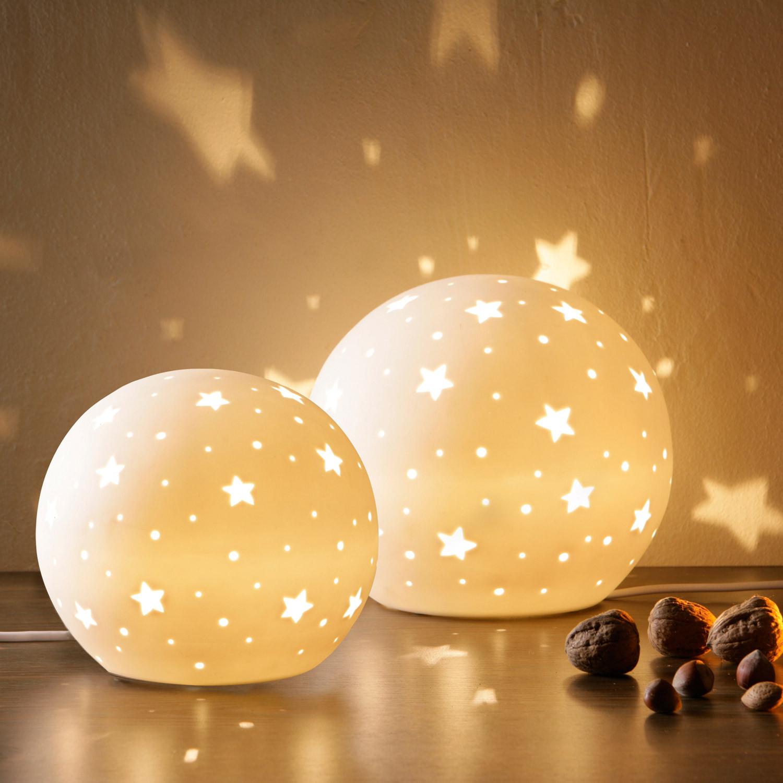 porzellanlampe prickel blume klein 28cm porzellan lampe leuchte gilde handwerk. Black Bedroom Furniture Sets. Home Design Ideas