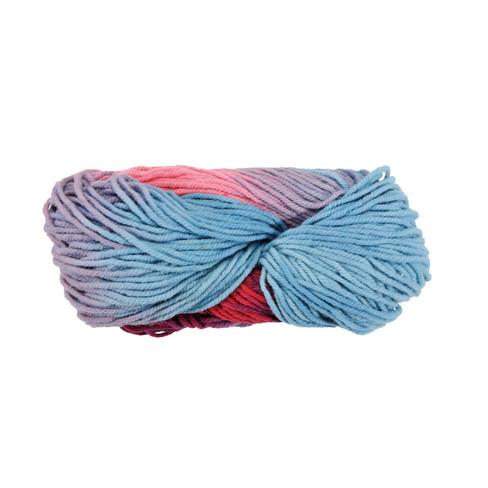 Strickwolle, multicolor rosa 5 - broschei