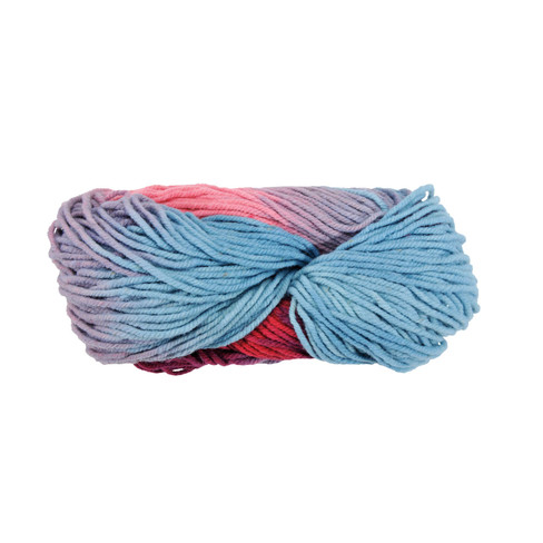 Strickwolle, multicolor rosa 5