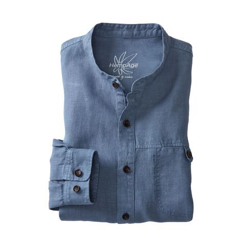 Hanfhemd mit Langarm NOAM, jeans XXL