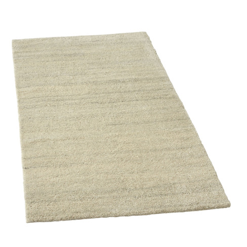 Berber Teppich Natur Grau Meliert Waschbar